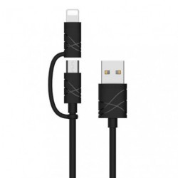 Data Сable Quick Charge 2 in 1