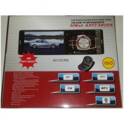 "Автомагнитола 4012 - 4,0""+ DIVX + MP3 + USB + SD + BLUETOOTH"