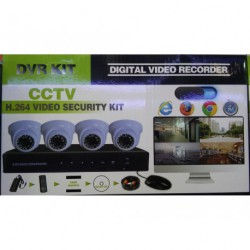 DVR H.264 CCTV Security Kit